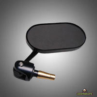 Oberon Oval Bar End Mirror