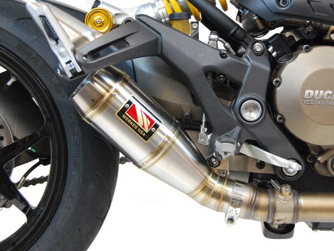Competition Werkes GP Slip-On Exhaust Ducati Monster 1200