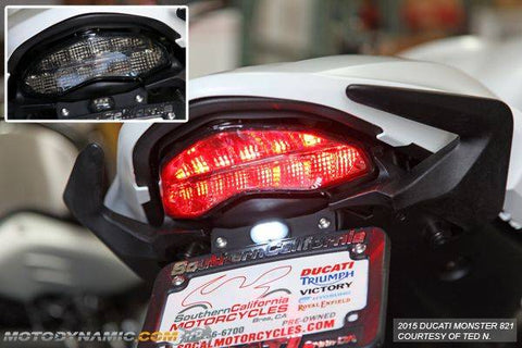 Motodynamic Integrated LED Taillight for Ducati  Monster 821 & 1200