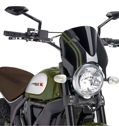 Puig Retrovision Windscreen for Ducati SCRAMBLER