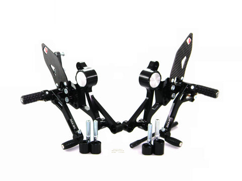 DucaBike Pilot Adjustable Rearset 696-796-1100