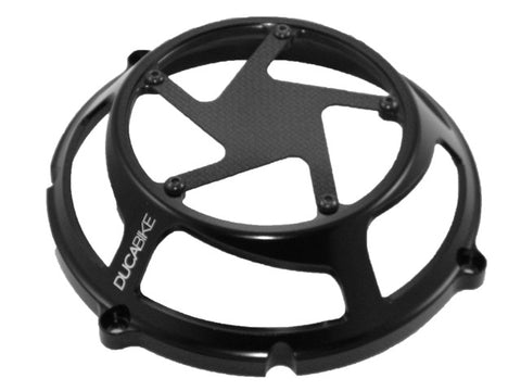 DucaBike Clutch Cover- Carbon