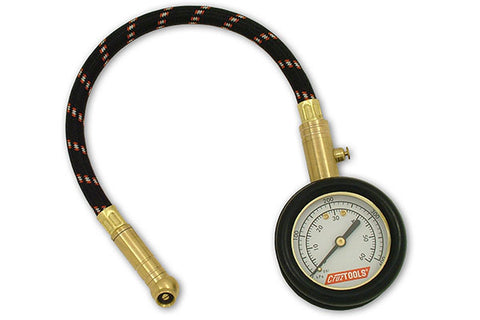 Cruz Tools TirePro Dial Tire Gauge