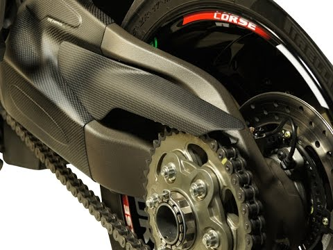 Carbon Fiber Chain Guard For Ducati Monster 821 1200 Monster Parts