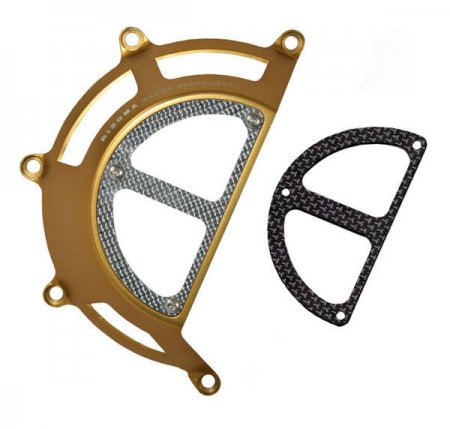 Rizoma Billet-Carbon Clutch Cover