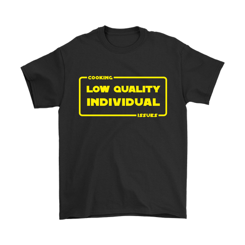 Low Quality Individual Shirt