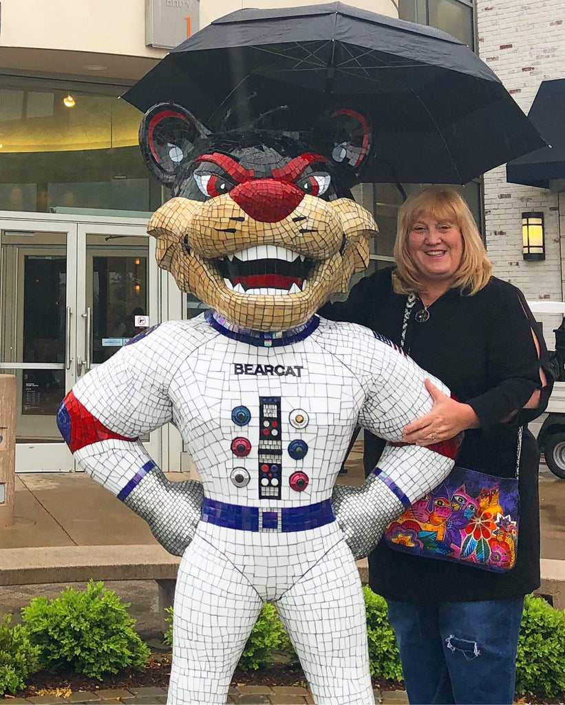 One Giant Pounce for Bearcats Nation by Lori Kay Farr
