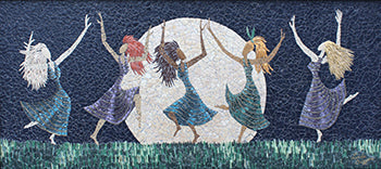 "Linda Biggers - ""Moonlight Dancers"""