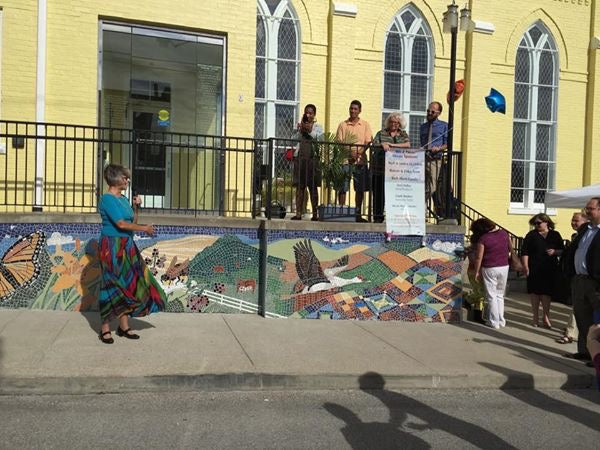 Gateway Regional Arts Center Community Built Mosaic by Terri Pulley