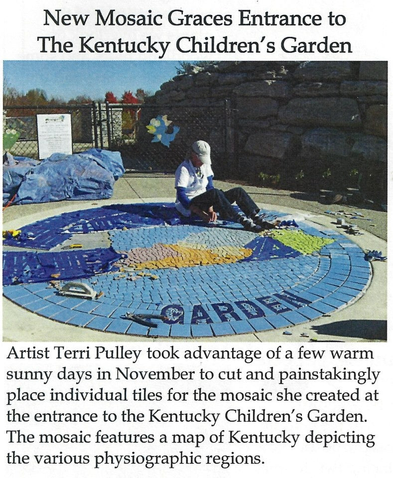 Kentucky State Arboretum Children's Garden by Terri Pulley