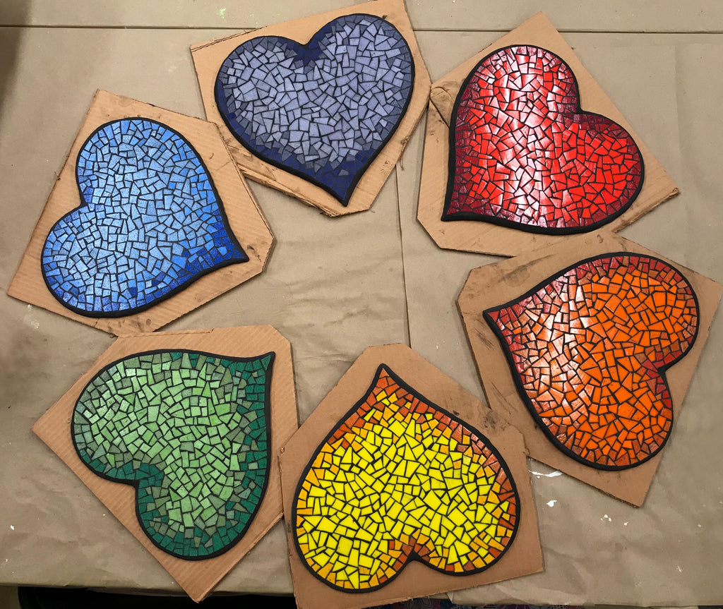 Hearts for the Diversity Mural by Sandra Groeneveld