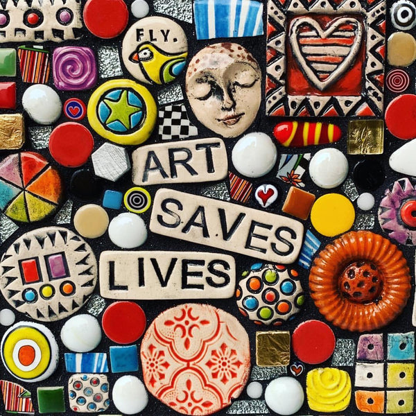 Art Saves Lives by Shawn DuBois