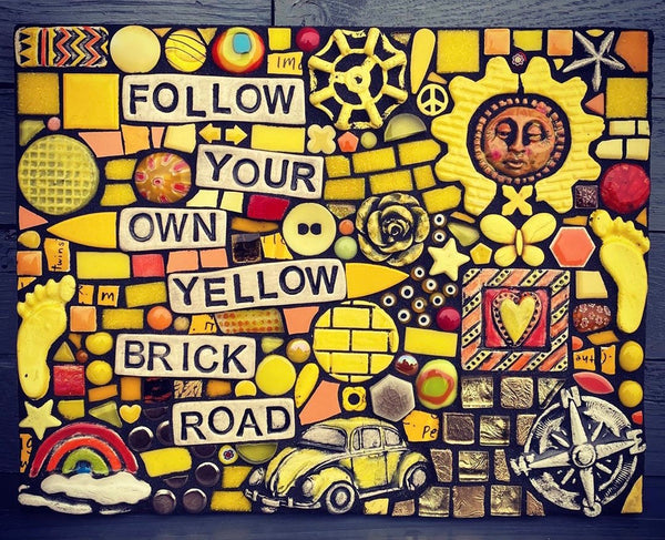 Follow Your Own Brick Road by Shawn DuBois
