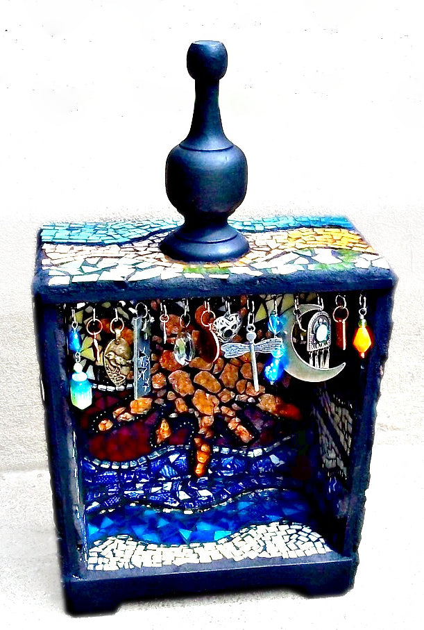 Sun Shrine in a box by Cindy White