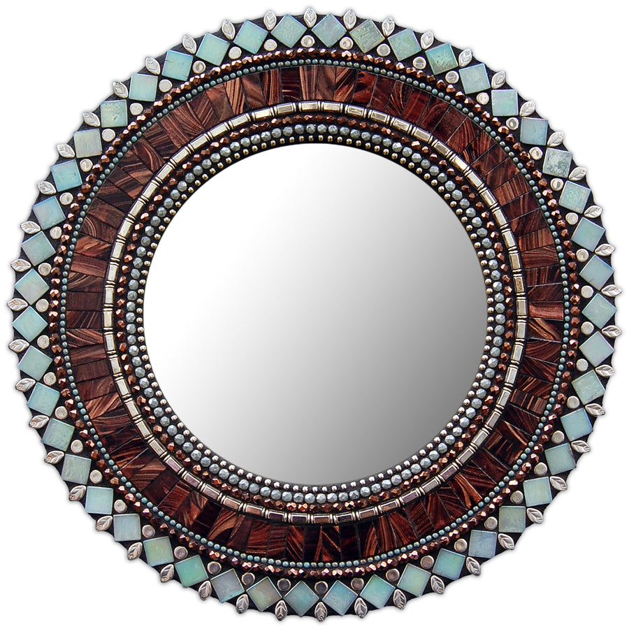 Sparkling Jewel Mosaic Mirrors with Angie Heinrich