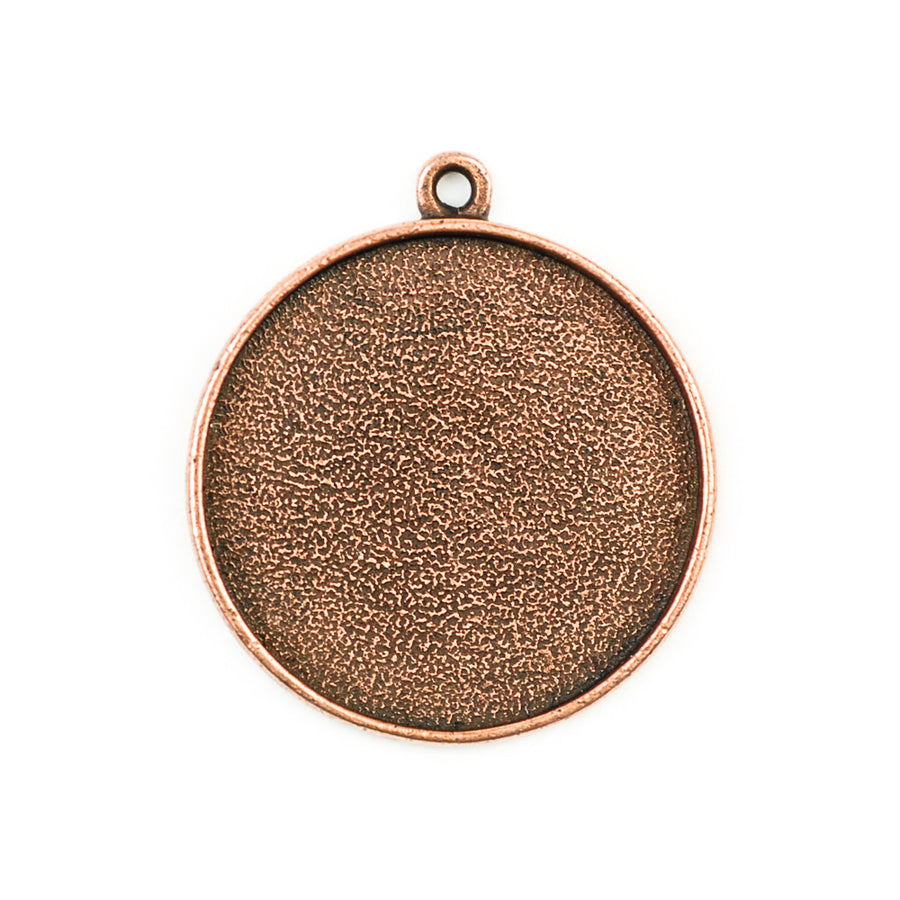 Pendant Circle - Antique Copper