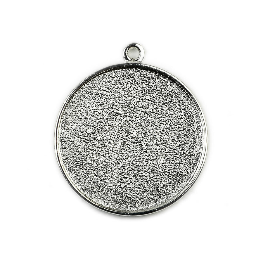 Pendant Circle - Sterling Silver