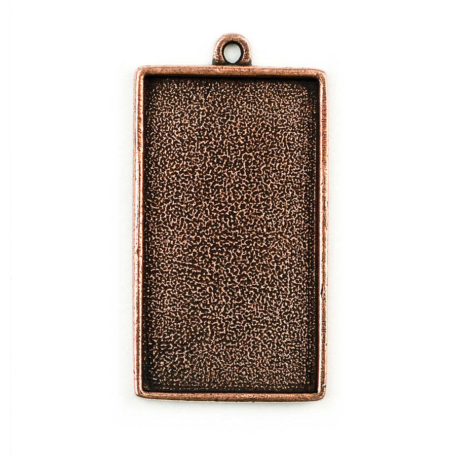 Pendant Rectangle - Antique Copper