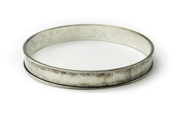 Bangle Bracelet Channel - Antique Silver