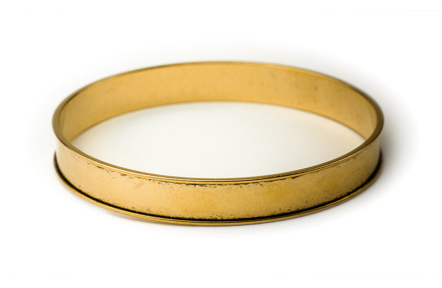 Bangle Bracelet Channel - Antique Gold