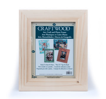 Wooden Photo Frame - 8 x 10 x 1.75 inches