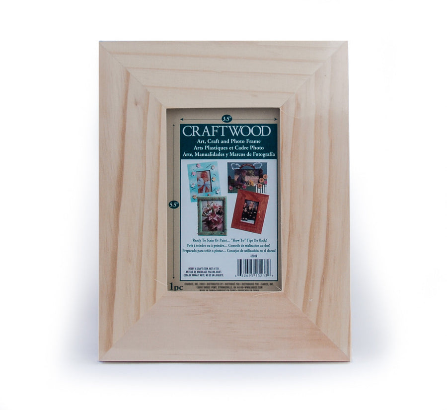 Wooden Photo Frame - 4 x 6 x 1.75 inches