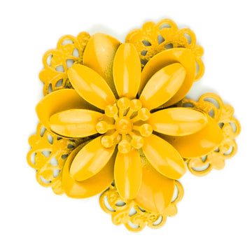 Hummingbird Florals - Style #3 - Sunflower Yellow Lg. Flower