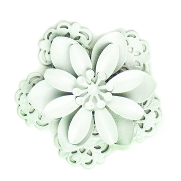 Hummingbird Florals - Style #3 - Wedding White Lg. Flower