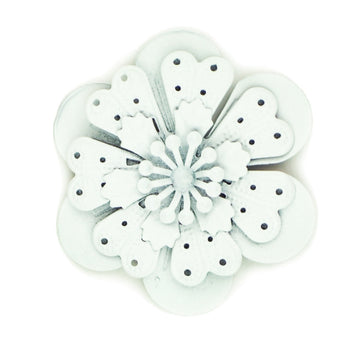 Hummingbird Florals - Style #4 - Wedding White Lg. Flower