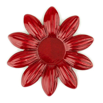 Hummingbird Florals - Style #5 - Crimson Red Sm. Flower