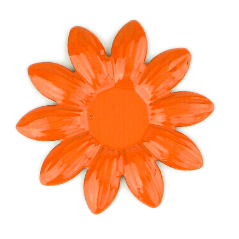 Hummingbird Florals - Style #5 - Flame Orange Sm. Flower