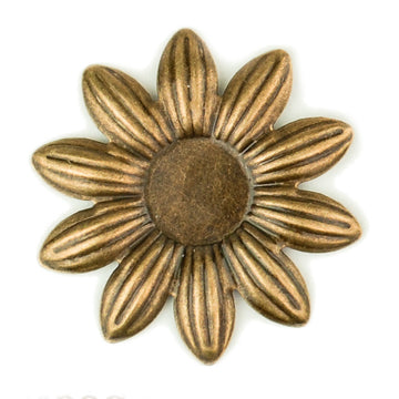Hummingbird Florals - Style #5 - Brunished Bronze Sm. Flower