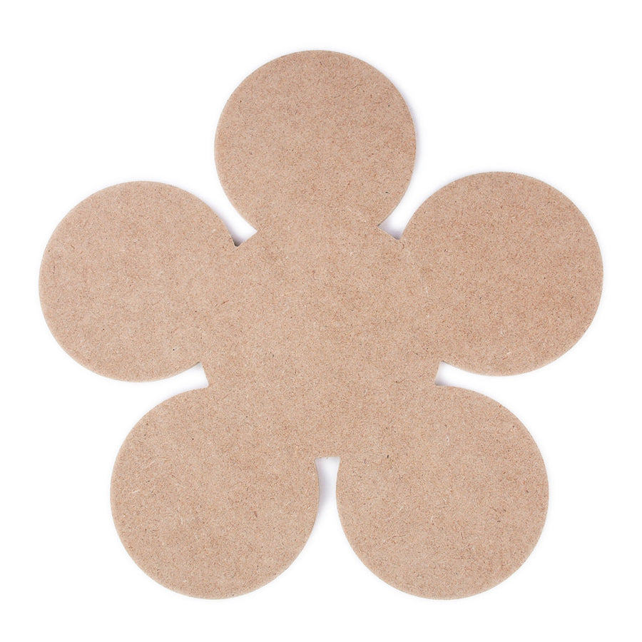 Flower - MDF Wood - 11.5 inches