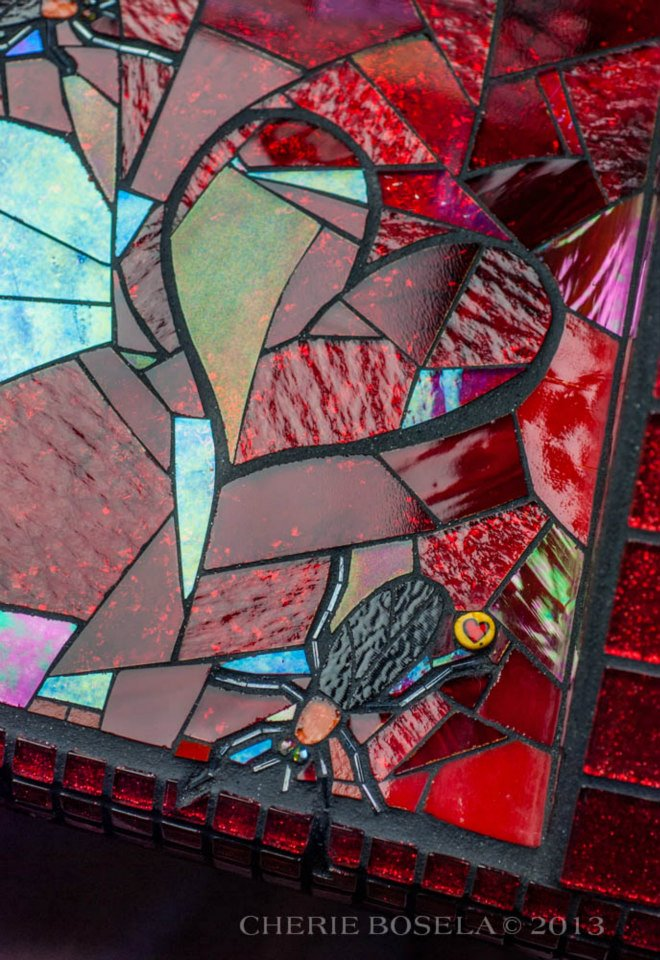 Love is in the Air: The Lovebug Story - Fine Art Mosaic