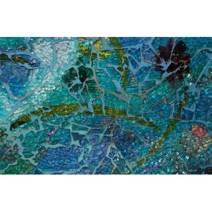 Tempered Glass Mosaic with Carol Shelkin