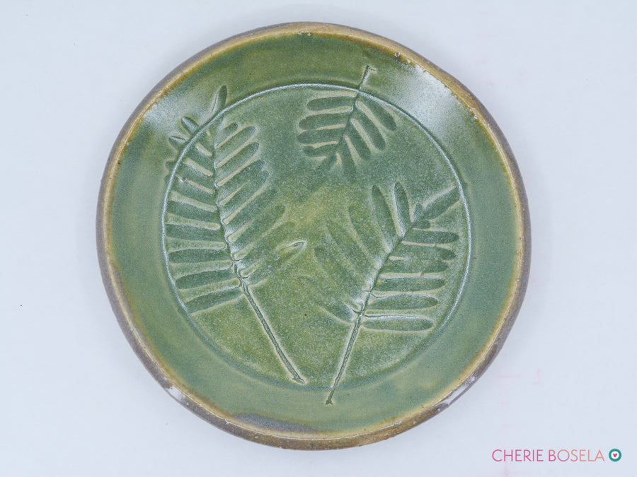 Leaf Imprint Trinket Dish