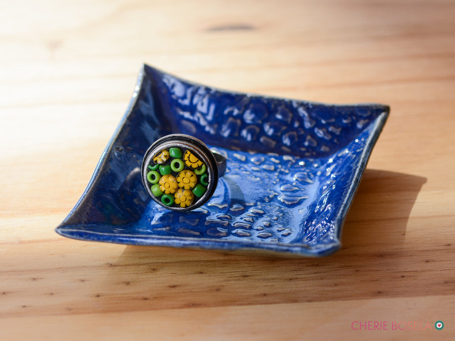Blue Lace Trinket Dish