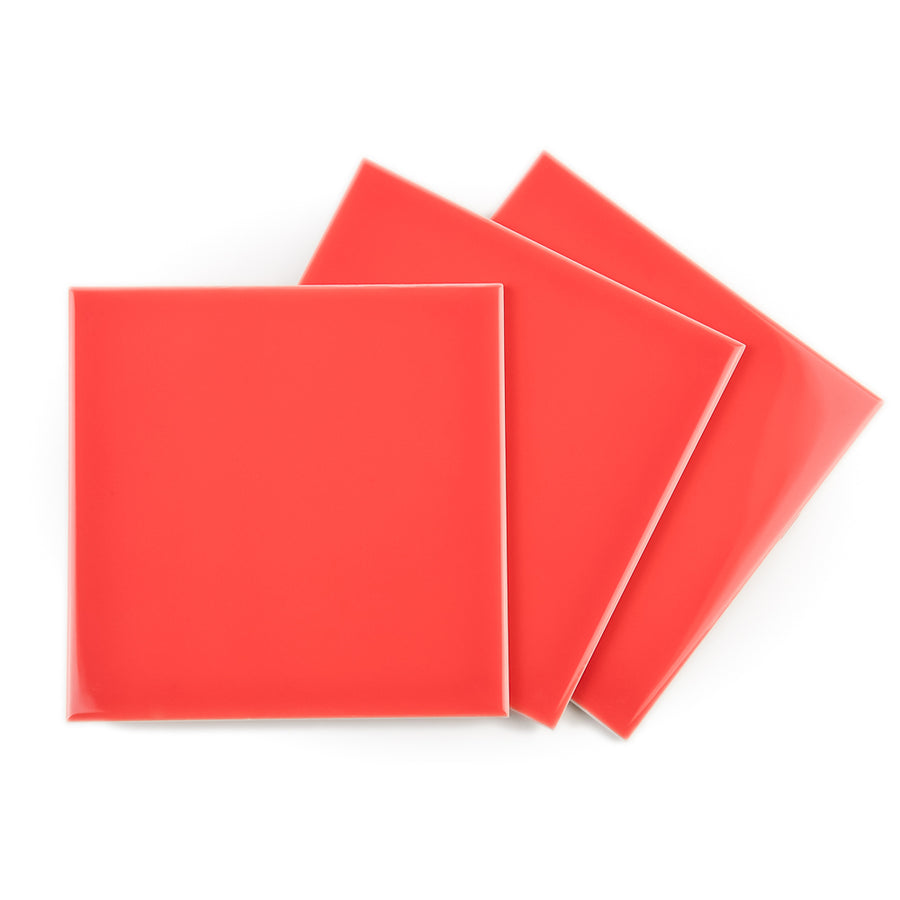 Royal Mosa Tile - Pompeian Red Orange