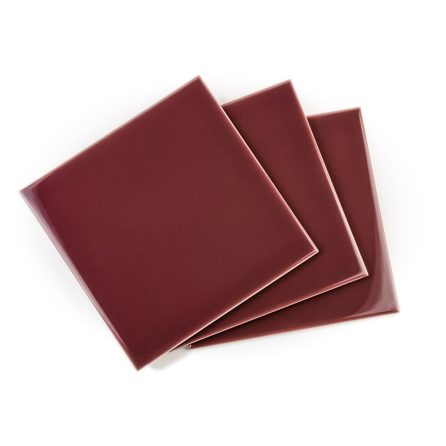 Royal Mosa Tile - Burgundy