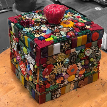 Jeweled Treasure Box with Debra Mager