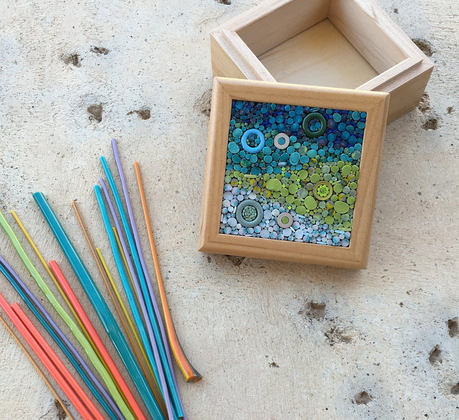 Micromosaic Trinket Box Workshop with Donna Van Hooser - June 2-3, 2021