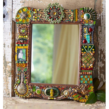Jeweled Mosaic (Mirror or Box) Workshop with Debra Mager