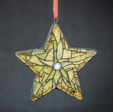 Holiday Ornament Mosaic with Cherie Bosela