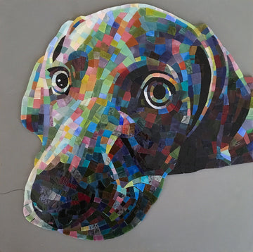 Color Freedom Mosaic Pet/Animal Portrait with Donna Van Hooser