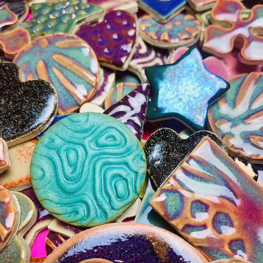 Make your Own Ceramic Tiles for Mosaics with Cherie Bosela