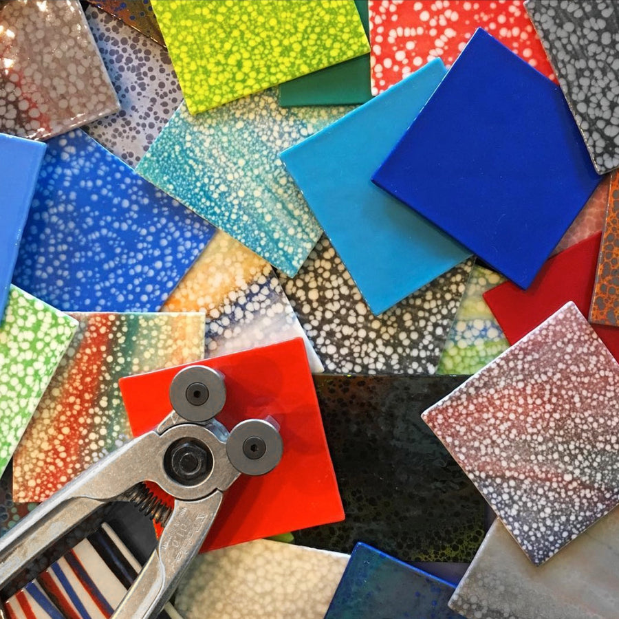 Fun Shapes Mosaic Workshop with Donna Van Hooser