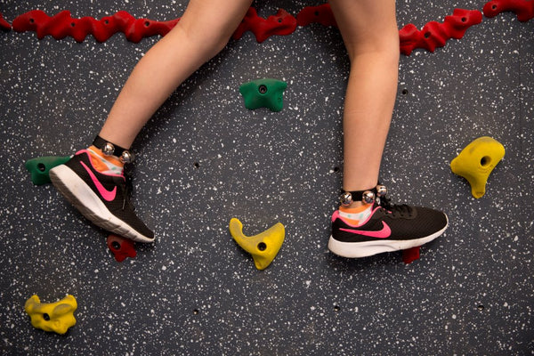 Climbing Wall Activity of the Month: Silent Feet