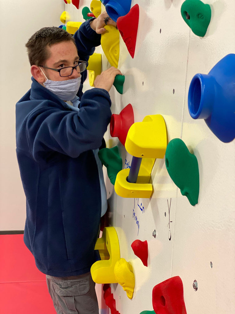 Success for All Using the Climbing Wall by Tammy Gipson, MS, OTR/L