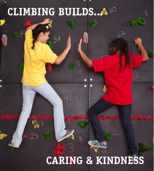 Climbing Builds…Kindness & Caring