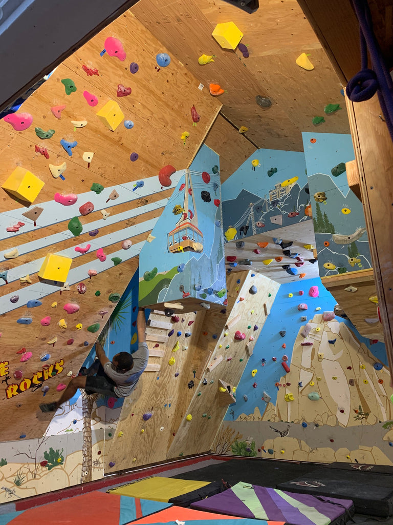 Home Rocks with a Home Climbing Wall